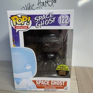 Funko Pop Space Ghost TRANSLUCENT NYCC